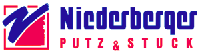Niederberger Putz & Stuck Sticky Logo